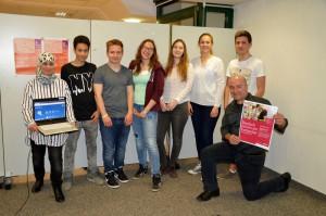 Klenze Schüler beim Launch der Lerntreffs