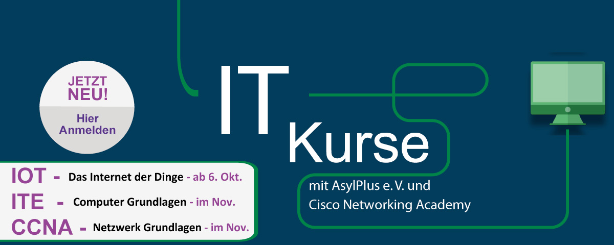 IT Kurse Asylplus Cisco Academy